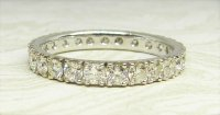 Antique Guest and Philips - Diamond Set, White Gold - Full Eternity Ring
