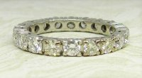 Antique Guest and Philips - Diamond Set, Platinum - Full Eternity Ring