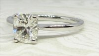 Antique Guest and Philips - 1.02ctDiamond Set, Platinum - Single Stone Ring