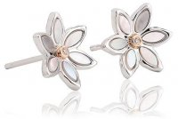 Clogau - Lady Snowdon, Silver Stud Earrings