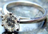 Antique Guest and Philips - Platinum and Diamond Solitaire Round Brilliant Ring