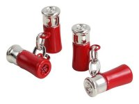 Dalaco - Red Gun Cartridge Chain Link Cufflinks