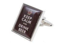 Dalaco - Stainless Steel Keep Calm and Drink Beer
