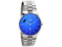 Storm - Men's, Slim-X XL Lazer Blue, Stainless Steel Watch