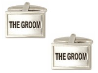 Dalaco - Stainless Steel The Groom Cufflinks