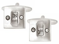 Dalaco - Light Switch On/Off Cufflinks