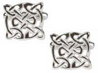 Dalaco - Stainless Steel, Celtic Design Cufflinks