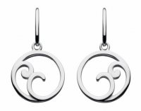 Kit Heath - Cosima, Sterling Silver Drop Earrings