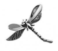 Tianguis Jackson - Sterling Silver Dragonfly Brooch