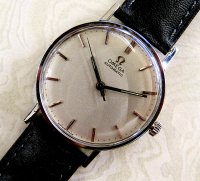 Omega - Omega Stainless Steel and Leather Strap Automatic Watch - PKT1364