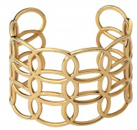 Links of London - Ovals, Yellow Gold Plated Cuff