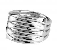 Tianguis Jackson - Sterling Silver - 4 Link Ring, Size O