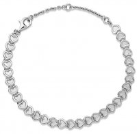 Links of London - Endless Love , Sterling Silver Heart Bracelet