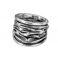 Tianguis Jackson - Sterling Silver Oxidised Broad Ring