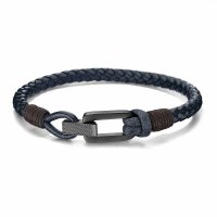Tommy Hilfiger - Braided Leather Bracelet