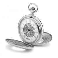 Rotary - Pocket Watch with Skeleton Dial