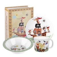 Churchill - Pirates 3 Piece Melamine Set