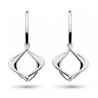 Kit Heath - Sterling Silver Entwine Alicia Drop Earring
