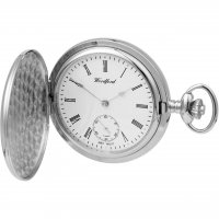 Woodford - Stainless Steel, Case and Chain Quartz Pocket Watch, Size 50mm