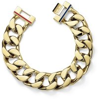Tommy Hilfiger - Stainless Steel, Yellow Gold Plated Bracelet