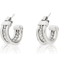 Tommy Hilfiger - Cubic Zirconia Set, Stainless Steel Stud Earrings
