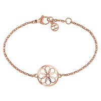 Tommy Hilfiger - Stainless Steel - Rose Gold Plated - Coin Bracelet, Size 19cm