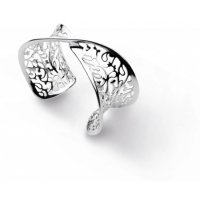 Kit Heath - Ladies Blossom Flourish, Silver Cuff