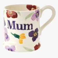 Emma Bridgewater - Wallflower Mum, Pottery Mug, Size 1/2pint