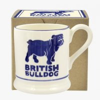 Emma Bridgewater - British Bulldog, Ceramic Half Pint Mug