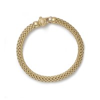 Fope - Meridiani, Yellow Gold 18ct Large Plain Chain