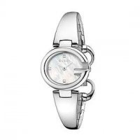 Gucci - Guccissima, Mother of Pearl anmd Diamond Set, Stainless Steel Watch