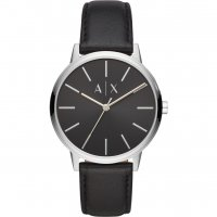 Armani Exchange - CYDE, Stainless Steel Black Faced Watch