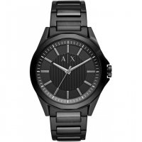 Armani Exchange - Drex, Stainless Steel Black Faced Watch