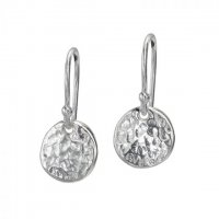Dower and Hall - Nomad, Sterling Silver Disc Earrings