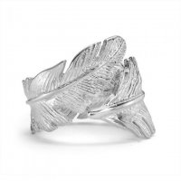 Dower and Hall - Feather, Sterling Silver Feather Ring