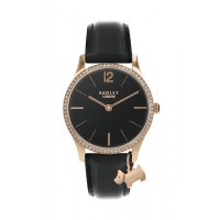 Radley - Cubic Zirconia Set, Stainless Steel - Rose Gold Plated - Leather Watch