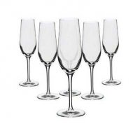 Dartington - - - Champagne Flutes, Size 19cl.