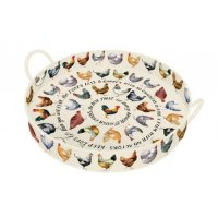 Emma Bridgewater - Hens, Large Handle Tray