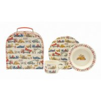 Emma Bridgewater - Builders at Work, Melamine Builders at Work 3 Piece Childs Set
