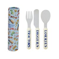 Emma Bridgewater - Men at Work, Stainless Steel Cutlery Set