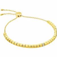 Calvin Klein - Tune, Crystals Set, Stainless Steel With Yellow Gold Plating Bracelet, Size Adjustable