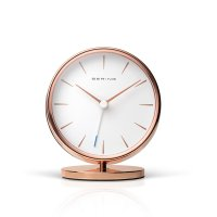 Bering - Stainless Steel Alarm Clock