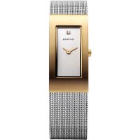 Bering - Classic, Stainless Steel Ladies Mesh Bracelet Watch