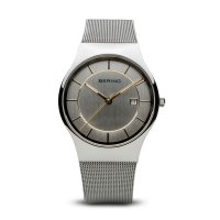 Bering - Men's Classic Collection, Stainless Steel Silver Watch