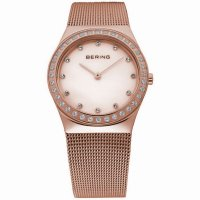 Bering - Rose Gold Plated Ladies Watch