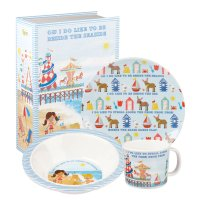 Churchill - Melamine Besides The Seaside 3 Piece Set
