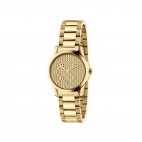 Gucci - Timeless, Stainless Steel - Yellow Gold Plated - Size small