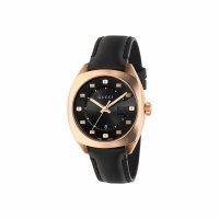 Gucci - GG2570, Stainless Steel - Rose Gold Plated - Size medium