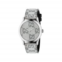 Gucci - Timeless, Stainless Steel - Plastic/Silicone - Size medium