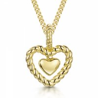 Jools - Sterling Silver Heart, Necklace